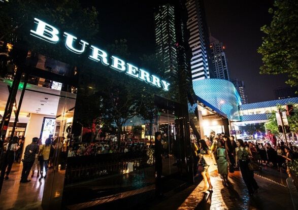网络营销案例之Burberry风衣