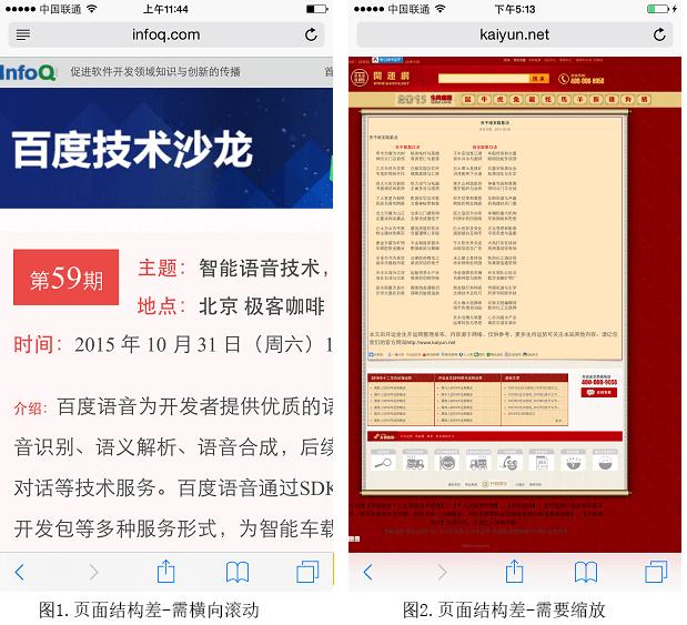 百度搜索Mobile Friendly(移动友好度)标准V1.0